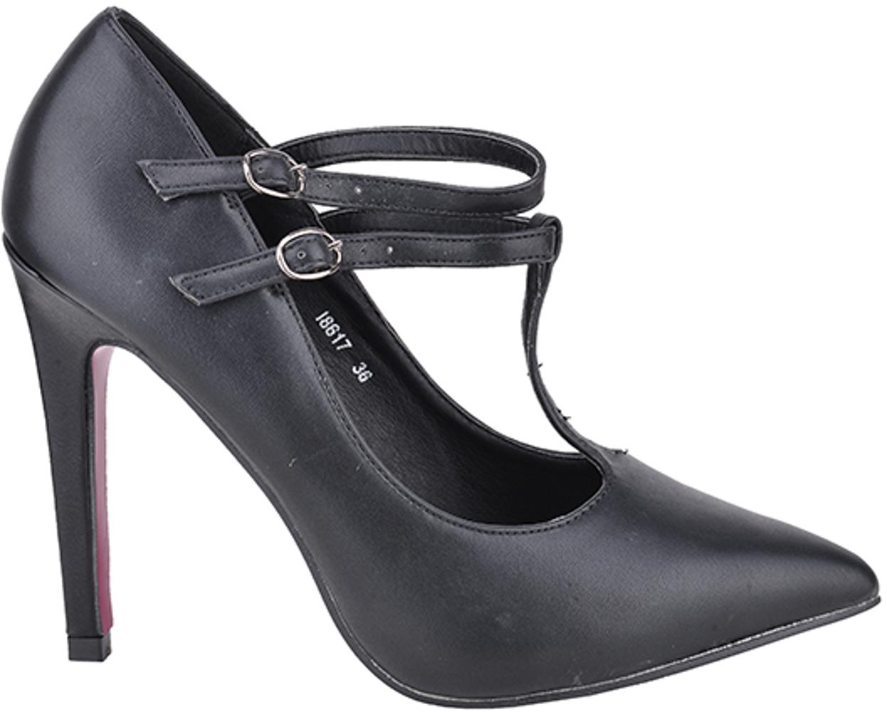 edle basic high heels riemchen 50s black pumps rockabilly s i8617. Black Bedroom Furniture Sets. Home Design Ideas