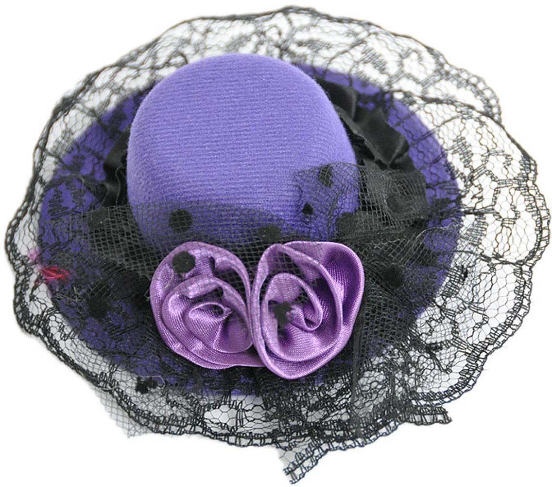 edler purple burlesque roses t ll zylinder rosen satin hut. Black Bedroom Furniture Sets. Home Design Ideas